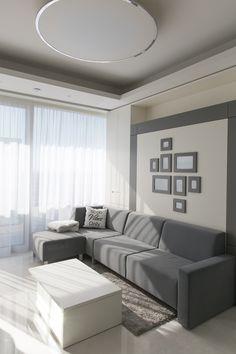 Sofa, Couch, Grey, Furniture, Home Decor, Contemporary Design, Stones, Bedroom, Gray