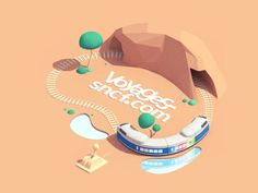 Another addition to my project with http://www.welcometothejungle.co  This time, voyages-sncf.com!