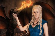 TV Show Game Of Thrones  Daenerys Targaryen Artistic Wallpaper