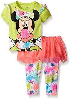 Disney Baby Baby-Girls Newborn Minnie Mouse Bubble Gum Skegging Set with Tutu Pant, Green, 3-6 Months Disney http://www.amazon.com/dp/B00ULACHU0/ref=cm_sw_r_pi_dp_vA6Owb1Y4494H