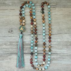 Cheap beaded necklaces for women, Buy Quality bead necklace directly from China necklaces for women Suppliers: EDOTHALIA Matte Natural Stone 108 Beads Necklaces For Women Female Payer Regious Nepal Pendant Long Mala Necklace Jewelry Boho Necklace, Fashion Necklace, Boho Jewelry, Beaded Jewelry, Fine Jewelry, Handmade Jewelry, Jewelry Necklaces, Jewelry Design, Fashion Jewelry