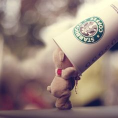 I deleted my other entry so I can put this one because who don't like Stuff animals and Starbucks? IF YOU HATE STARBUCKS YOU are dead to me, if you like Starbucks like this post thanks xx I Love Coffee, Coffee Break, Coffee Coffee, Coffee Talk, Coffee Shop, Morning Coffee, Sweet Coffee, Drinking Coffee, Coffee Cups