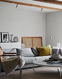 Modern Swedish farm house - via cocolapinedesign.com