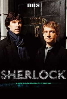 BBC Sherlock - it's incredible. The suspense, the mystery... and the best looking Sherlock I've ever seen... I love it!!! <3
