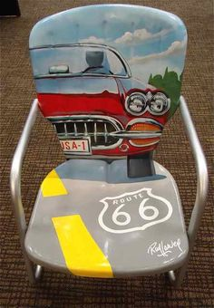 Route 66 chair