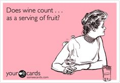 Yes! Yes it does... don't let anyone tell you different! #wine #quotes