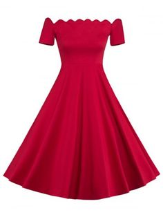 GET $50 NOW | Join RoseGal: Get YOUR $50 NOW!http://www.rosegal.com/vintage-dresses/fit-and-flare-off-the-869728.html?seid=7456714rg869728