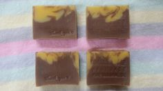 (CP) sweet pumpkin and cocoa soap