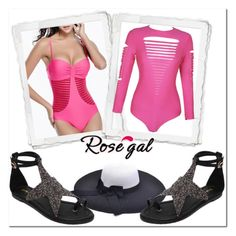 """Rosegal 90"" by elma-polyvore ❤ liked on Polyvore"