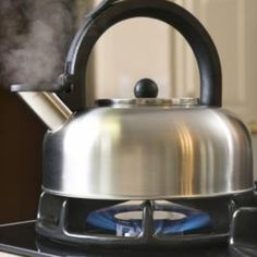 Clean the Outside of Stainless Steel Tea Kettle
