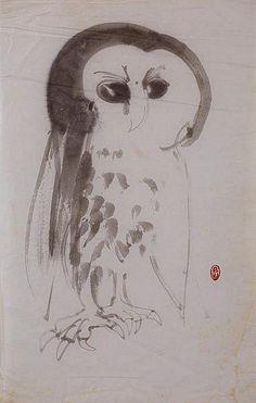 'Owl' by Brett Whiteley
