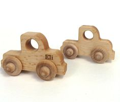 Miniature Wooden Truck | Bannor Toys
