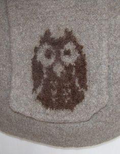 Owl shoulder purse