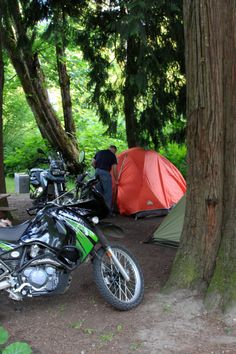 The Best Camping in the bottom of the Coquihalla Canyon along the Trans Canada Trail in a very scenic mountainous area with wild flowers, beautiful trees, open spacious sites from full hookups to tents electric sites with picnic tables, fire pits in all sites. www.HopeBC.ca Motorcycle Camping, Motorcycle Style, Camping Style, Camping Life, Super 4, America And Canada, Rv Parks, Bike Life, Outdoor Gear