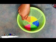 Creative Art rangoli designs by Basket/Innovetive Kolam designs.
