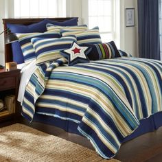 Perfect for the Master bedroom! Ryan Quilt - BedBathandBeyond.com