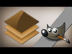 Warstwy w gimpie Część II - YouTube