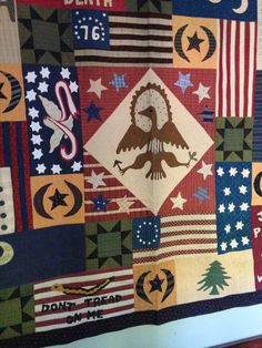 Jan Patek Quilts: Flags of the American Revolution