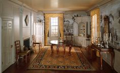 Mrs. James Ward, Thorne miniature period rooms. New Hampshire Dining Room, 1760 | The Art Institute of Chicago