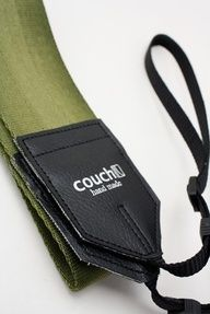 Army Green Recycled Seatbelt Camera Strap  by couchguitarstraps, $22.95  #Gift #Idea
