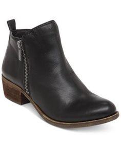 Lucky Brand Women's Basel Booties - Black 11M