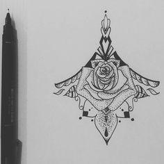 Instagram media by lartdrawing - Sketching some tattoo design for a change and for a relaxing time. . . #tattoo #tattoodesign #design #art #sketch #drawing #draw #underboob #underboobtattoo #tatuagem #desenho #arte #nankin #test #relax #illustration #pen #paper