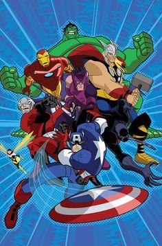 Animated Avengers