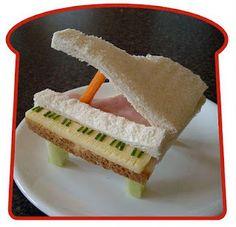 Blog da Roberta Giovaneli: sanduiches para crianças
