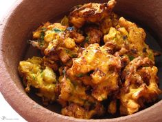 Kapustove pakory / Cabbage fritters Indie, Fritters, Cabbage, Curry, Vegetarian, Snacks, Dishes, Meat, Chicken