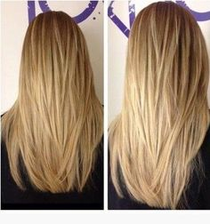 The Fabulous Long Straight Hairstyles with Layers - maybe not quite as many, but this is beautiful by Deanna9695