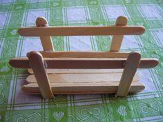 Servilleteros con palitos de madera - Dale Detalles