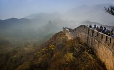 Great Wall by lena monteiro on Asia Travel, Mount Rushmore, China, Explore, Mountains, Wall, Walls, Porcelain, Bergen