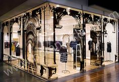 Mağaza Vitrin Cam Dekorasyonları