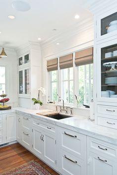 Con el fregadero bajo la ventana - Cocinas con estilo