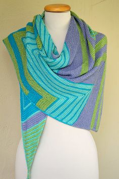Knit Rug, Knit Or Crochet, Crochet Shawl, Designer Knitting Patterns, Shawl Patterns, Knitted Shawls, Knit Scarves, Shawls And Wraps, Knitting Projects