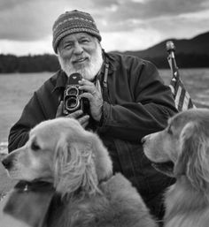 Bruce Weber and furry friends