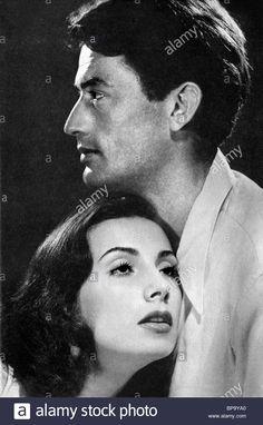 "Gregory Peck and Tamara Toumanova in ""Days of Glory"""