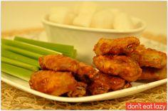 korean buffalo wings - ambitious deliciousness
