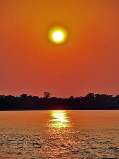 Amazonas sunset