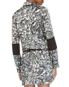 River Stone Enzyme Dress, Pine Multi