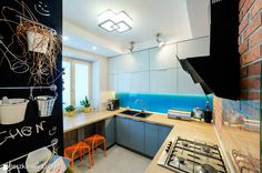 Kuchnia styl Nowoczesny - zdjęcie od Auraprojekt - Kuchnia - Styl Nowoczesny - Auraprojekt