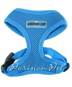 Parisian Pet Mesh Harness Blue @ Pupaholic.com
