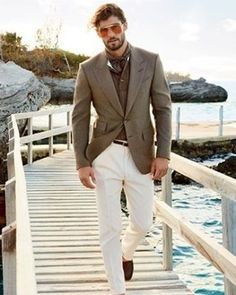 Tips for Men Summer Suits - Mens Suits Tips | Look book | Pinterest ...