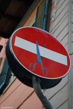 Clet Abraham, Via Gioberti, Firenze (Toscana, Italy) - by Silvana, gennaio 2015 #streetart