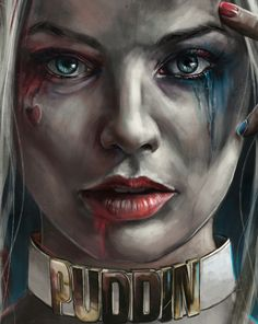 Illustrative print of Harley Quinn to be released at New York Comic Con 2016.