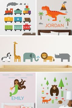 Beautifully designed wall decals  from Maxwill Studio. http://maxwillstudio.com