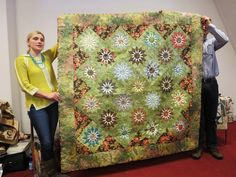 Oh, Oh, Quilts!: Edyta and a very special evening