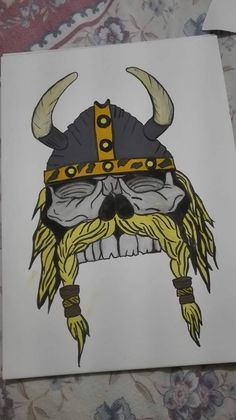 viking skull :D