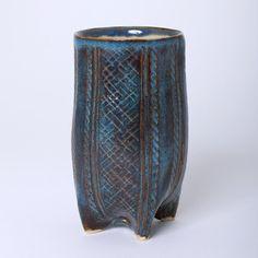 Ceramic tumbler by Kathryn Ransom (Calgary, AB). Member of the Alberta Craft Council