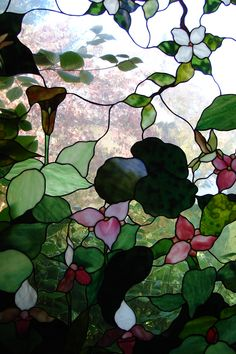 Stained glass, Yellow Springs, Ohio